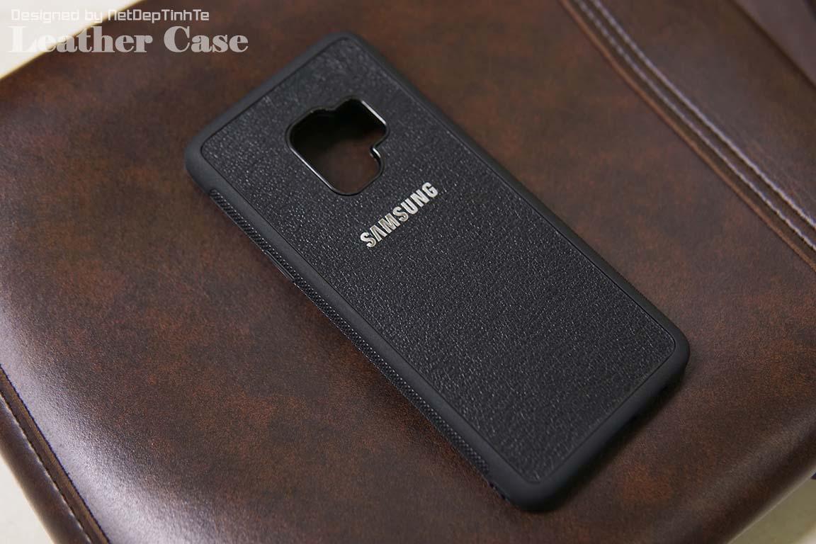 Ốp da điện thoại Samsung S9