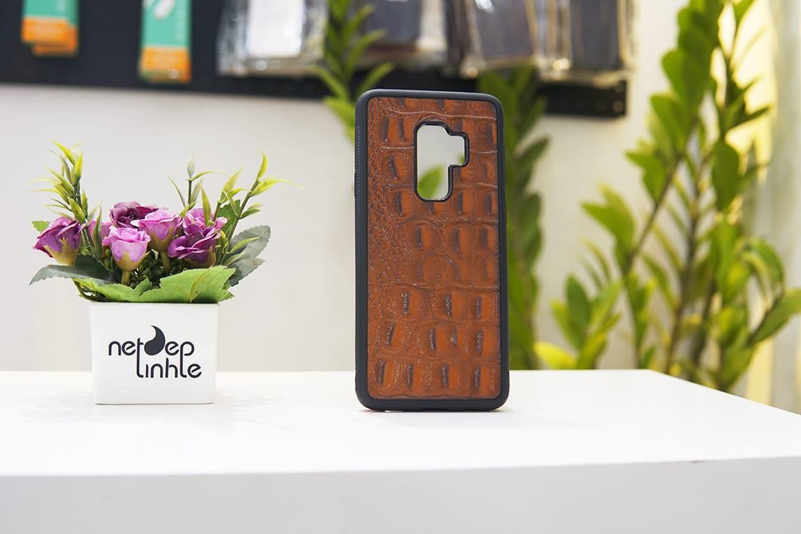 Ốp da điện thoại Samsung S9 Plus